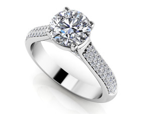 Diamond Delight Engagement Ring Style BDMS220-A