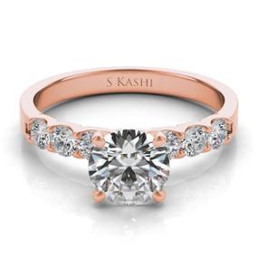 Solitaire Diamond Engagement Ring EN3587