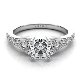 SOLITAIRE DIAMOND ENGAGEMENT RING EN7154