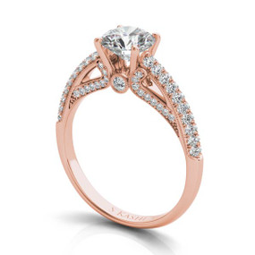 VINTAGE STYLE DIAMOND ENGAGEMENT RING EN7410