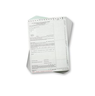 DOT Breath Alcohol Testing Forms - Intoxilyzer 8000