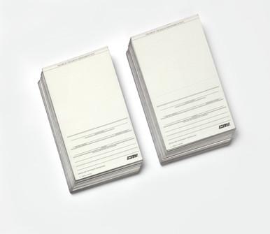 Printer Cards, 3 Part, Short (5000)