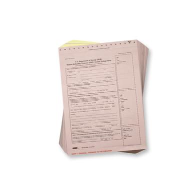 DOE Breath Alcohol Testing Forms - Standard