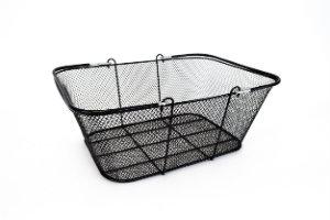 Black Mesh Wire Basket