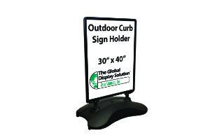 Wind Pro Sign Holder- Black