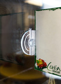 Suction Cup Sign Holder - For Cooler Doors and Glass windows