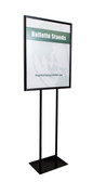 "Economy Poster Stand Display - Black - 22""w x 28""h 1/Pack"