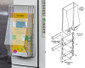 "Outdoor Brochure Holder - Display Tri-fold 4""w x 9""h Brochures"