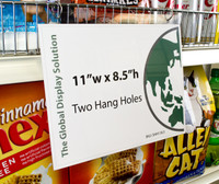 Hanging Sign Sleeve