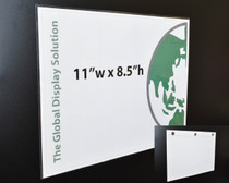 "(1) Up Sign Protector with Magnets - 11"" x 8.5"" - 200/Pack"