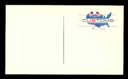 U.S. Scott # UX  50, 1964 4c U.S. Customs Service, 175th Anniversary - Mint Postal Card