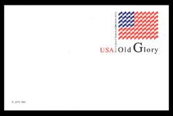 U.S. Scott # UX 199, 1995 (20c) Old Glory - Mint Postal Card