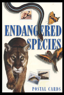 U.S. Scott # UX 264-78, 1996 20c Endangered Species - Mint Picture Postal Card Set of 15