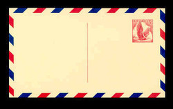 U.S. Scott # UXC  3 A/UPSS #SA3-TA 1958 5c Eagle, red on buff, with red & blue border, Type A - Mint Postal Card (See Warranty)