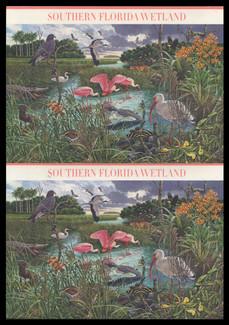 U.S. Scott # UX 478-87, 2006 39c Southern Florida Wetland - Mint Picture Postal Card Set of 10