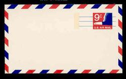 U.S. Scott # UXC 10 1971 9c Stylized Eagle - Mint Postal Card