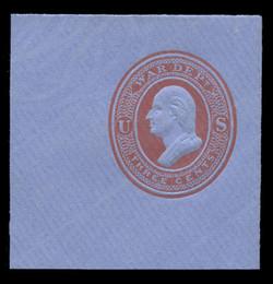 U.S. Scott # UO 054 1875 3c Washington, red on blue - Mint Full Corner (See Warranty)