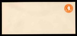U.S. Scott # U 529, 1932 6c Washington, Orange on White - Mint Envelope, UPSS Size 21