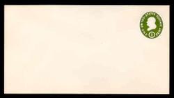 U.S. Scott # U 532, 1950 1c Franklin, Die 1 - Mint Envelope, UPSS Size 13