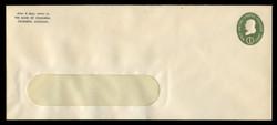U.S. Scott # U 532b, 1950 1c Franklin, Die 3 - Mint Envelope, UPSS Size 23-WINDOW (See Warranty)