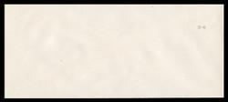 U.S. Scott # U 646Ga 2001 34c Federal Eagle, Error (Eagle omitted, Grey Number Only) - Mint Envelope, UPSS Size 23