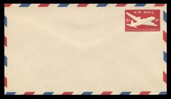 U.S. Scott # UC 18 1950 6c DC-4 Skymaster, Type 1 - Mint Envelope, UPSS Size 13