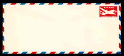 U.S. Scott # UC 18a 1950 6c DC-4 Skymaster, Type 2 - Mint Envelope, UPSS Size 23