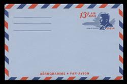U.S. Scott # UC 39 1967 13c President John F. Kennedy - Mint Air Letter Sheet