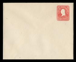 U.S. Scott # U 385b, 1903 2c Washington, red on white - Mint Envelope, UPSS Size 16