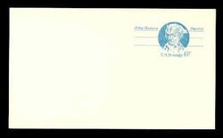 U.S. Scott # UX  64aFL/UPSS #S81bFL, 1972 6c John Hanson - Patriot Series - Mint Postal Card, COARSE, FLUORESCENT (Low Bright) PAPER (See Warranty)