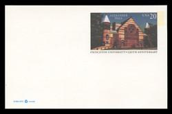 U.S. Scott # UX 263FM, 1996 20c Alexander Hall, Princeton University - Mint Postal Card, FLUORESCENT (Medium Bright) PAPER (See Warranty)