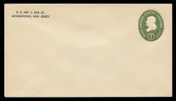 U.S. Scott # U 532b/10, UPSS # 3290/45, 1950 1c Franklin, Die 3 - Mint (See Warranty)