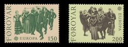 FAROE ISLANDS Scott #  63-4, 1981 EUROPA - The Ring Dance (Set of 2)