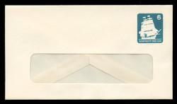 U.S. Scott # U 609/12-WINDOW, UPSS #3706/49A 1985 6c U.S.S. Constitution - Mint (See Warranty)