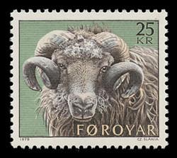 FAROE ISLANDS Scott #  42, 1979 Definitive - Ram