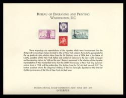 Brookman B  5/Scott SC7 1970 INTERPEX '70 Souvenir Card