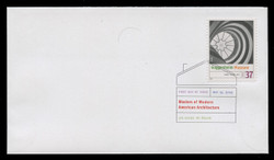 U.S. Scott #3910, 2005 37c Modern American Architecture, SET of 12 First Day Covers.  Digital Colorized Postmarks