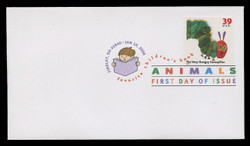 U.S. Scott #3987-94, 2006 39c Children's Book Animals SET of 8 First Day Covers.  Digital Colorized Postmarks