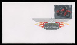 U.S. Scott #4085-8, 2006 39c American Motorcycles SET of 4 First Day Covers.  Digital Colorized Postmarks