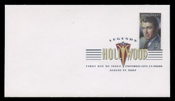 U.S. Scott #4197, 2007 41c Legends of Hollywood - James Stewart First Day Cover.  Digital Colorized Postmark