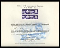 Brookman B 16/Scott SC18 1972 Interpex '72 Souvenir Card