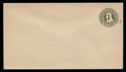 U.S. Scott # U 495b/13, UPSS #3132/24, 19251½c on 1c (U420b) Franklin, green on white, Die 3 - Mint (See Warranty)