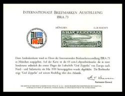 Brookman PS10/Scott SC28 1973 Ibra '73 Souvenir Card