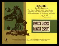Brookman PS13/Scott SC35 1974 Hobby Show Chicago Souvenir Card