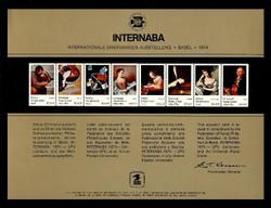 Brookman PS14/Scott SC37 1974 Internaba '74 Souvenir Card