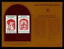 Brookman PS16/Scott SC39 1974 Exfilmex '74 Souvenir Card