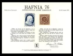 Brookman PS22/Scott SC51 1976 Hafnia '76 Souvenir Card