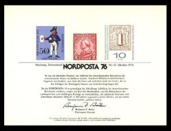 Brookman PS24/Scott SC53 1976 Nordposta '76 Souvenir Card