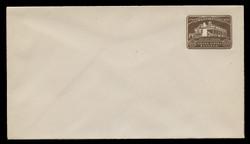 U.S. Scott # U 524/13, UPSS # 3262/29, 1932 1½c Washington Bicentennial, DARK BROWN - Mint (See Warranty)