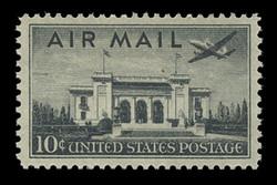U.S. Scott # C  34, 1947 10c Pan-American Union Building
